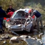 Un accident de rallye terrifiant!