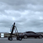 Can a Hyundai Genesis Coupe Go Faster Than An Arrow?