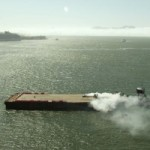 Ken Block and DC Shoes Release Gymkhana Five Trailer Featuring Barge Drifting Action