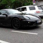 Revamped 2013 Porsche Cayman and Panamera Caught Testing