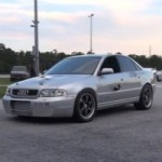 Is This Audi S4 With a Turbo VR6 Engine the Fastest in the World?