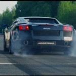 Watch a Beastly 1,500 WHP Twin-Turbo Lamborghini Gallardo on a Wild Run to 405 km/h