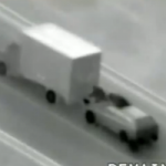Watch Robbers Entering a Moving Truck, Fast and Furious Style