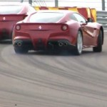 Watch Fernando Alonso and Felipe Massa Having Track Fun With the Ferrari F12berlinetta