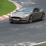 Voyez et coutez la nouvelle Aston Martin Vanquish se dfouler au Nrburgring 