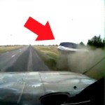 Watch a Boat Overtake An Unsuspecting Driver On A Highway