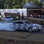 Observez une Mercedes-Benz CLS 63 AMG Shooting Brake faire un burnout impressionnant!