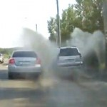 Watch a SUV Driver Taking EPIC Revenge on a Motorist