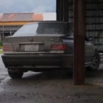 Watch an E36 BMW M3 Beater Doing Some Pole Dancing, aka Precision Drifting