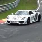 Porsche 918 Spyder Caught Testing at the Nürburgring
