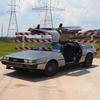 Electric-DeLorean