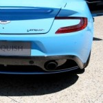De la musique pour les oreilles : Le grand patron d&rsquo;Aston Martin fait rugir le moteur de la nouvelle Vanquish