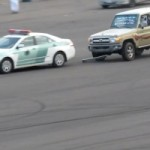 Meanwhile, In Saudi Arabia… Cops Get Chased By Drifters