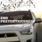 Mitsubishi Wants You To Run Over Your Pretentious Facebook Friends With A 2013 Outlander
