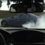 Une sance de drift spectaculaire en BMW M3 E92