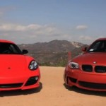 BMW 1 Series M Coupe Takes on Porsche Cayman R