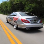 A Spin in a Monstrous 700 Horsepower Mercedes-Benz CLS 63 AMG Prototype
