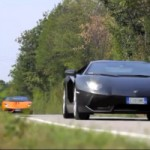 Watch and Hear a Lamborghini Aventador and a Gallardo Performante Having Fun On Twisty Roads
