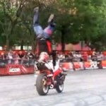 This Video Embodies The Definition of Two-Wheeled Skills