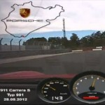 Watch the 991 Porsche 911 Carrera S Tackle the Ring in 7:37,9