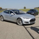 Watch a Tesla Model S Drag Racing Against a BMW M5