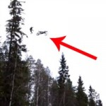 Video: Insane Motorcycle Rider + Parachute = Mindblowing Stunt
