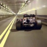 Watch and Hear Red Bull's F1 Car Going Full Throtthle in the Lincoln Tunnel