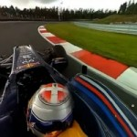 Interactive Video : Take a Ride in a Red Bull Formula 1 Car With A 360 Degrees Onboard Cam
