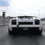 Watch and Hear a Monstrous 1,750 WHP Twin Turbo Lamborghini Gallardo Superleggera in Action