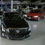 Comparative Test: Cadillac ATS 3.6 vs BMW 335i vs Mercedes-Benz C350 (VIDEO)
