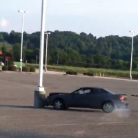 Drifting fail toyota celica parking centro comercial