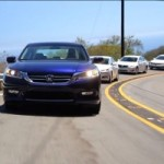 Video Comparative Test – VW Passat vs Ford Fusion vs Honda Accord vs Nissan Altima