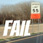 FAIL – Nebraska Highway Has Two Speed Limits At The Same Place