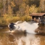 Tutorial – How To Destroy A Volkswagen Golf With a Huge Jump And A Pond (VIDEO)