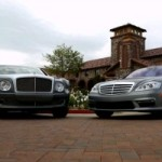 Confrontation de prestige : Mercedes-Benz S65 AMG vs Bentley Mulsanne (VIDÉO)