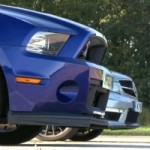 Course d'accélération : Ford Mustang Shelby GT500 vs Mercedes-Benz C63 AMG