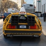 Une DeLorean transforme en taxi new-yorkais!