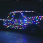 Video: Man Puts Christmas Lights EVERYWHERE On His Pickup, Drives With It Around Town