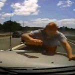 Watch A Lunatic Completely Lose His Mind In A Crazy Road Rage Episode