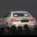 Detroit Auto Show: Redesigned 2014 Maserati Quattroporte Roars Out The Gate (VIDEO)