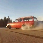 Video: This Old Volvo 245 Powered By A Supra Engine Delivers Unsuspected Hoonage