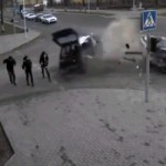 Video: We Still Can't Figure Out How These Three Pedestrians Survived This