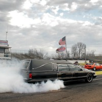 Word's Fastest Hearse created by AMS Performance