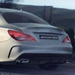 Mercedes-Benz CLA 45 AMG Leaked Ahead Of Debut In Playstation 4 Racing Game Promo