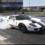 Watch a Twin-Turbo Ford GT Making A 9.72 Seconds Quarter Mile Run