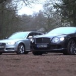 Bentley Continental GT Speed and Audi S4: Distinct Identities? (VIDEO)