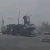 Car-Transporter-Crash