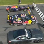 Speed Comparison: Infiniti Red Bull Formula 1 vs Mercedes-Benz SL63 AMG vs Holden V8 Supercar (VIDEO)