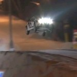 Watch A Rally-Spec Ford Fiesta Land A Massive Jump On A Ski Slope