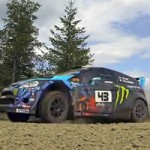 Ken Block test at the Oregon Trail Rally 2013